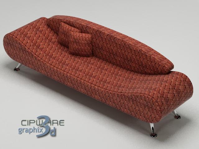 sofa 1 3d max