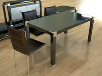 chairs tables furniture 3d max