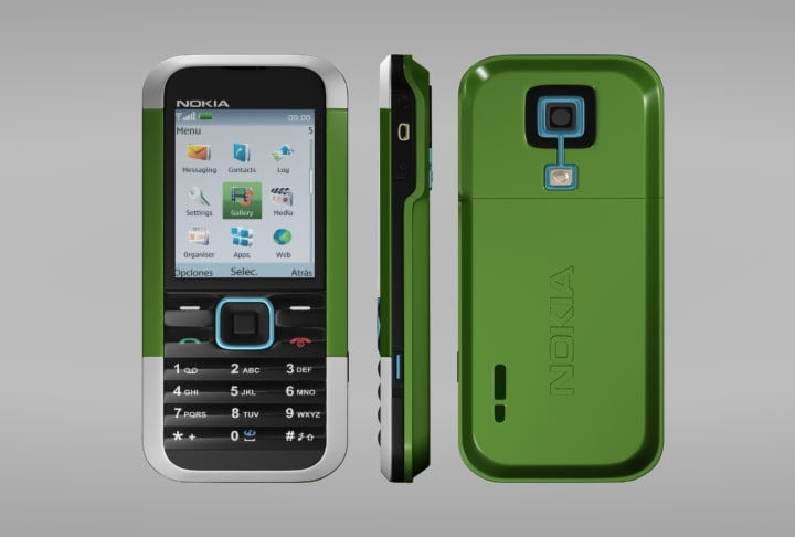 3ds max nokia cellular phone