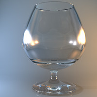 3ds max snifter glass