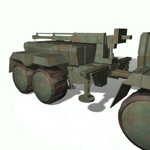 3d model trailer gtp