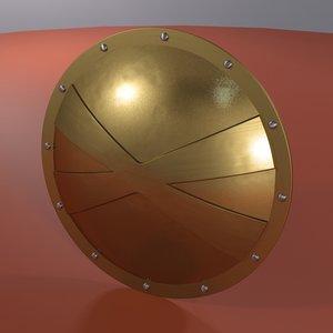 shield phalanx 3d max