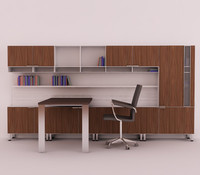 3d model office set
