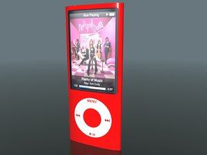 3d model of apple ipod nano 5g