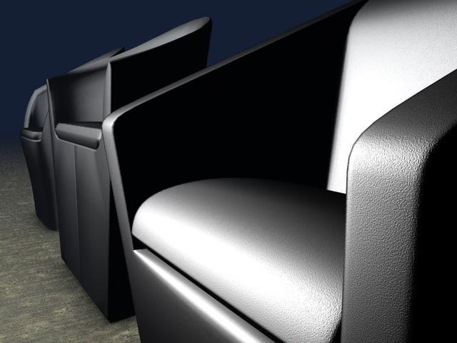club chair 3ds