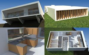 apartamento 2009 3d model