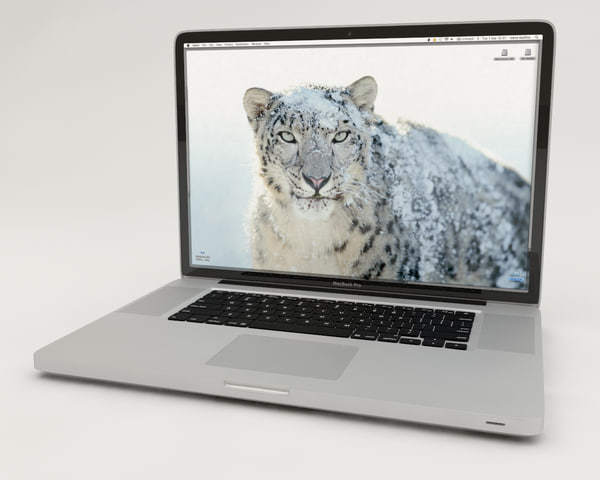 3d apple macbook pro 17