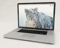3d apple macbook pro 17