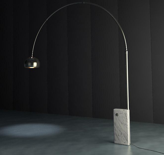 free max mode arco lamp lighting