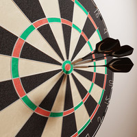 dartboard darts 3d 3ds