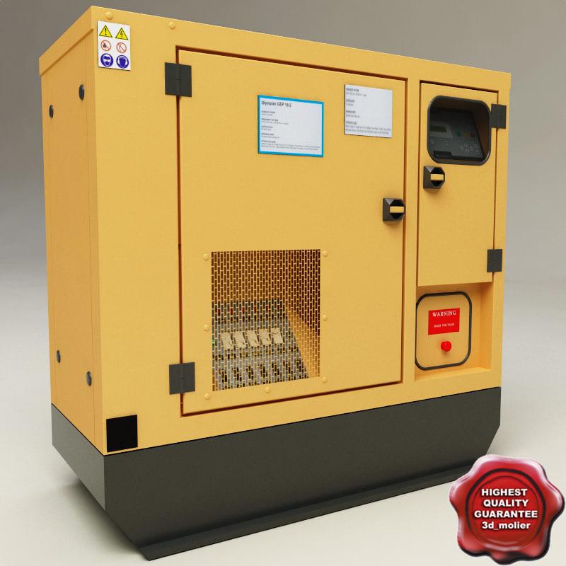 maya electric generator v2