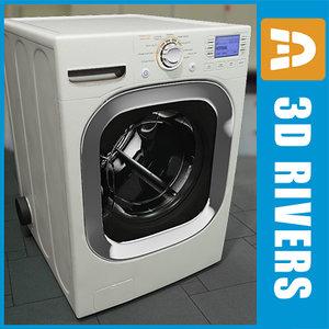 3ds white dryer