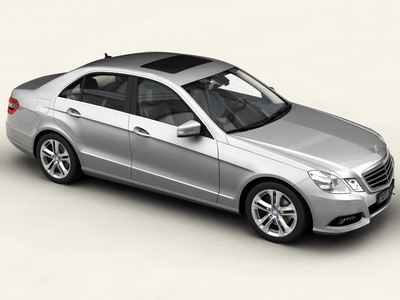 3d mercedes benz e class model