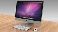 Apple 27 inc LED Desktop, Magic Mouse, Wireless Keyboard