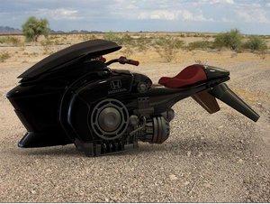 sci fi hover bike 3d model