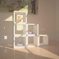 piece box storage 3d max