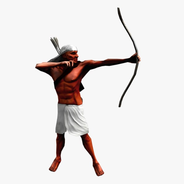 Egyptian Archer (ANIMATION PACK #1)