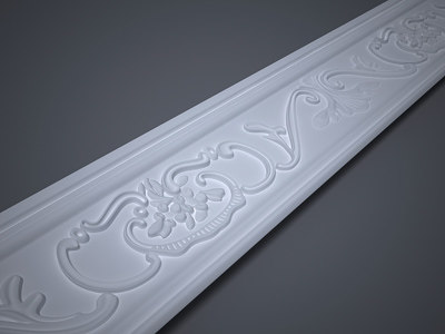 decorative lath 3d max