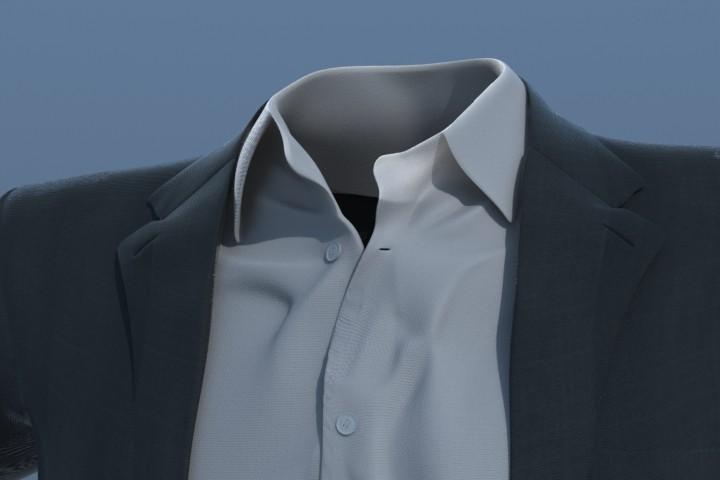 3ds max suit