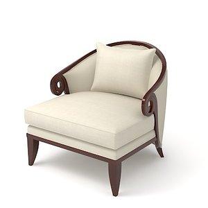 3d model christopher guy chair