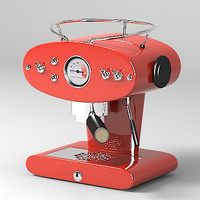 Coffe machine red coffeemaker