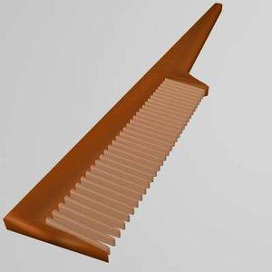 free comb 3d model