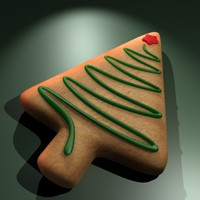 3d christmas cookie
