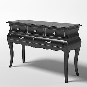 flai console table 3d 3ds