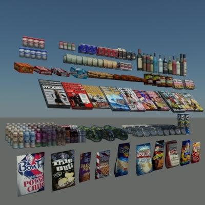 3d general merchandise
