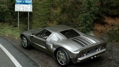 3d light cars silver