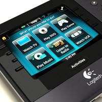 logitech harmony 1100 3d model