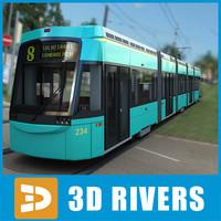 Helsinki tramway by 3DRivers
