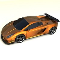 customized lamborghini gallardo 3d max