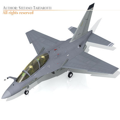 alenia m-346 fighters 3ds