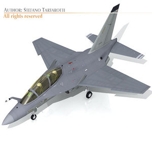 alenia m-346 fighters 3ds