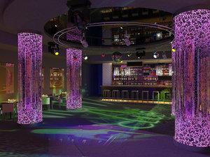 night club 3d max