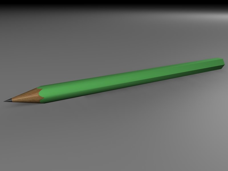 free 3ds model pencil