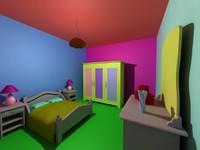room furnitures 3d max
