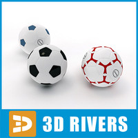 Soccer balls by 3DRivers