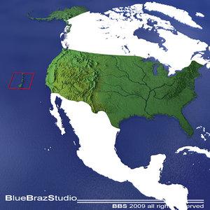 united states usa maps dxf