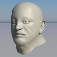 3ds human head character -