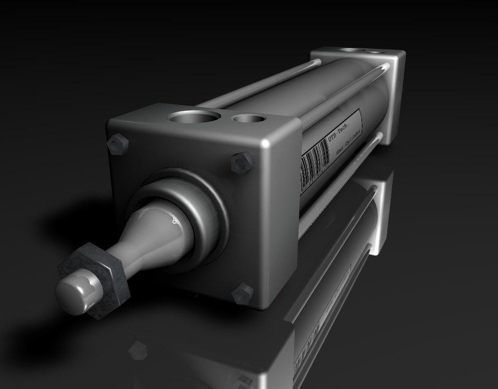 3ds hydraulic cylinder