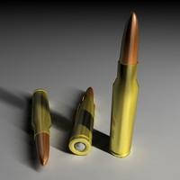 7 62mm nato bullet c4d free