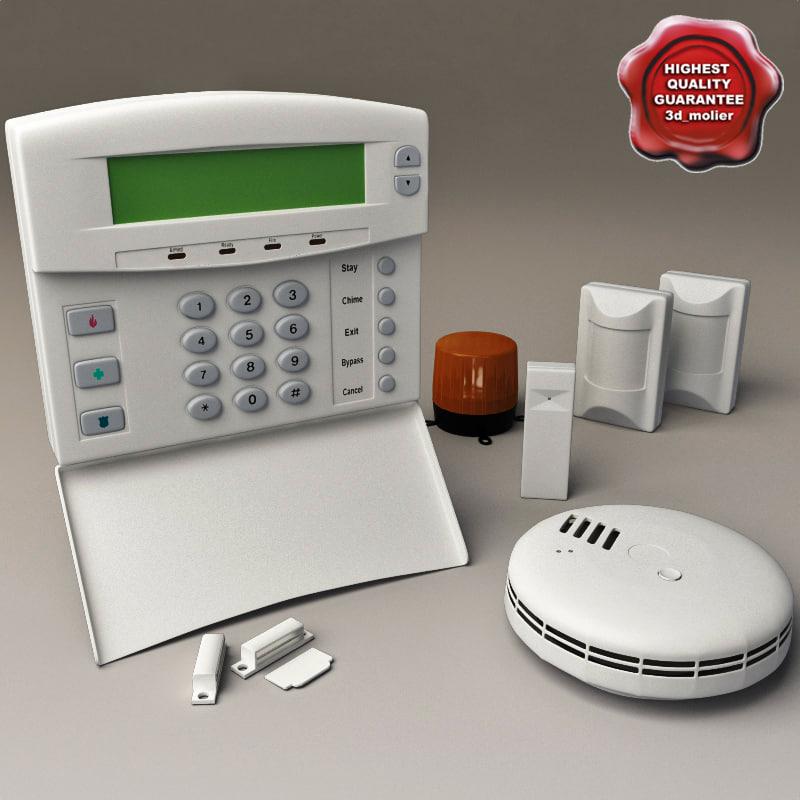 3d alarm modelled