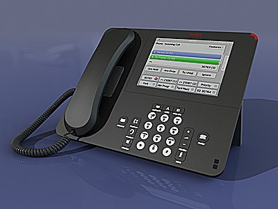 3d avaya one-x deskphone 9670g model