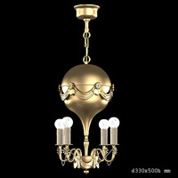 3d model banci chandelier