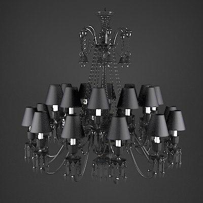 obj baccarat starck zenith crystal chandelier. Black Bedroom Furniture Sets. Home Design Ideas