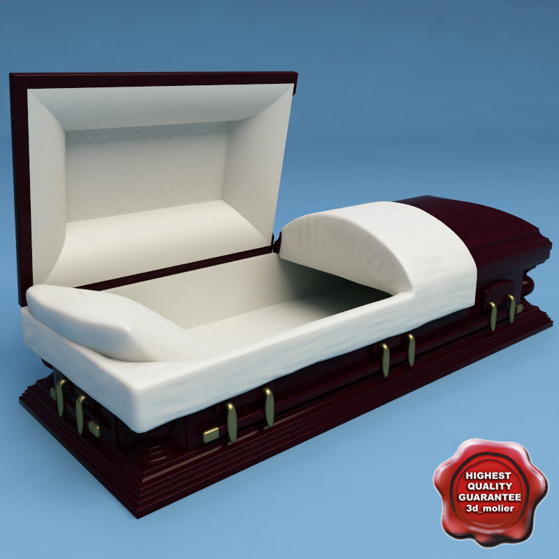 coffin modelled lwo