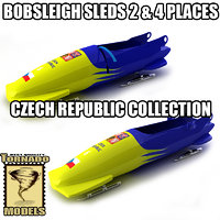 Bobsleigh Sleds Collection - Czech Republic