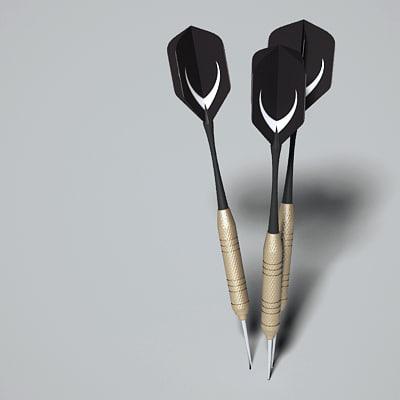 3ds max darts